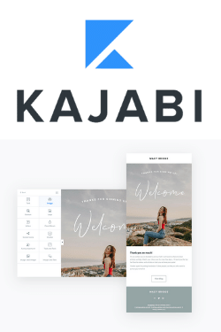 Kajabi combines beautifully designed email templates and a powerful email marketing platform to help your grow and communicate with your list of potential customers.