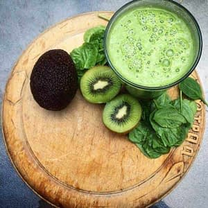 Health By Whole Foods - Green Smoothie with Avocado, Lime and Baby Spinach